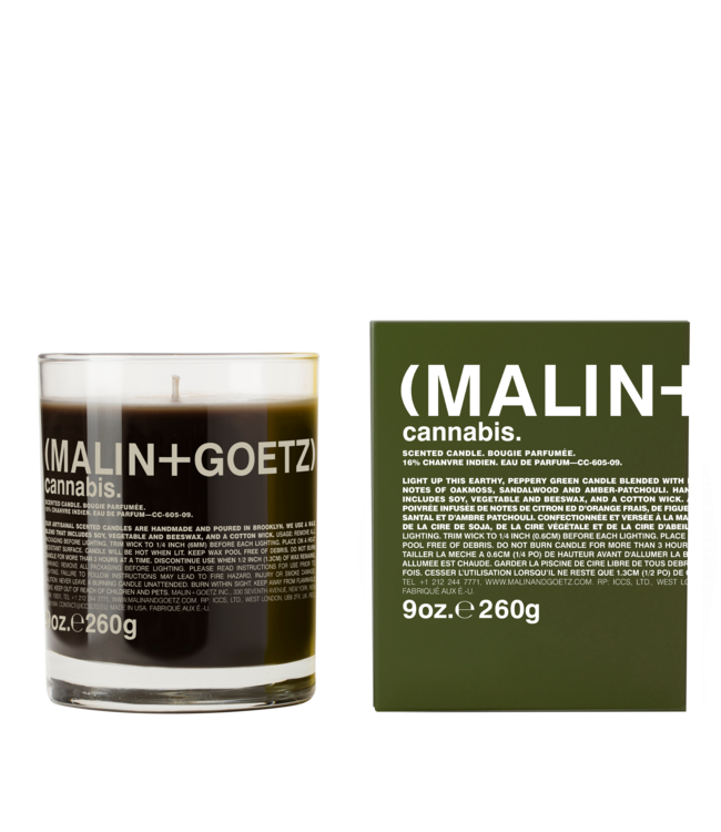 (MALIN+GOETZ) Cannabis Candle 9oz/260g