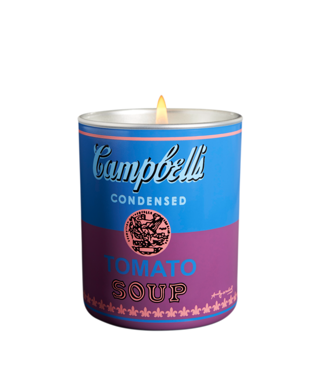Andy  Warhol Campbell's Blue/Purple Candle 140g