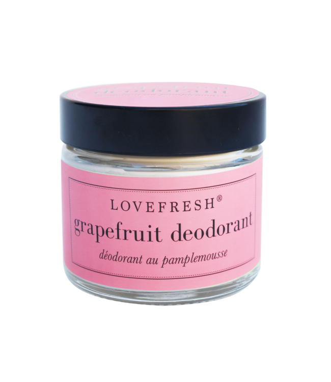LoveFresh Déodorant en pot - Pamplemousse 2oz