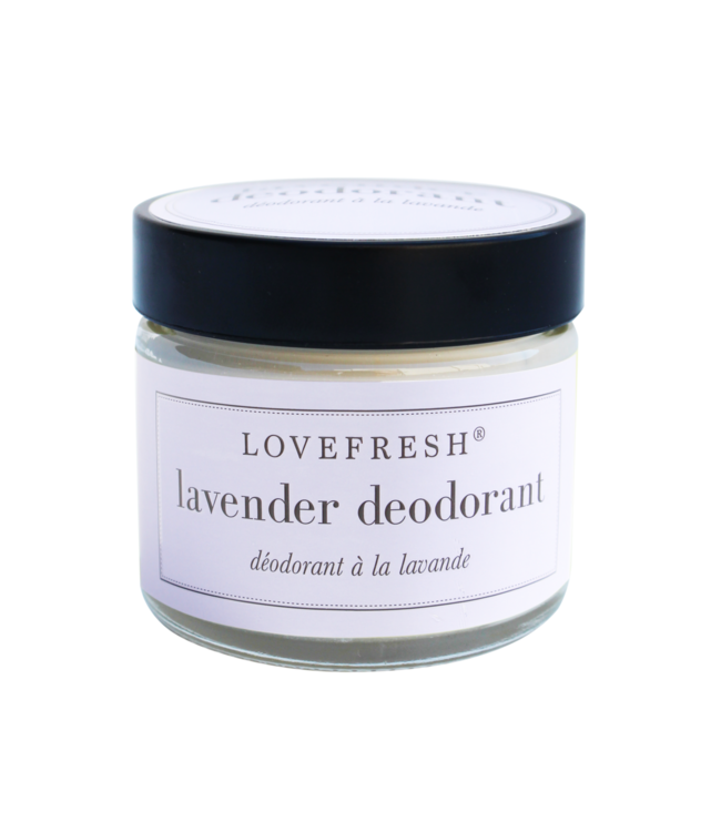 LoveFresh Lavender Jar Deodorant 2oz