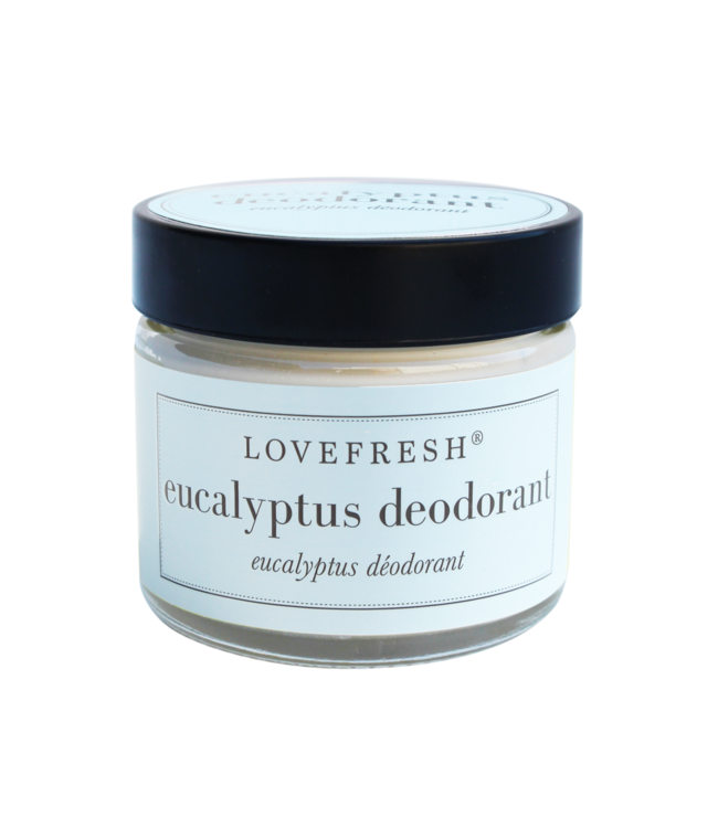 LoveFresh Eucalyptus Jar Deodorant 2oz
