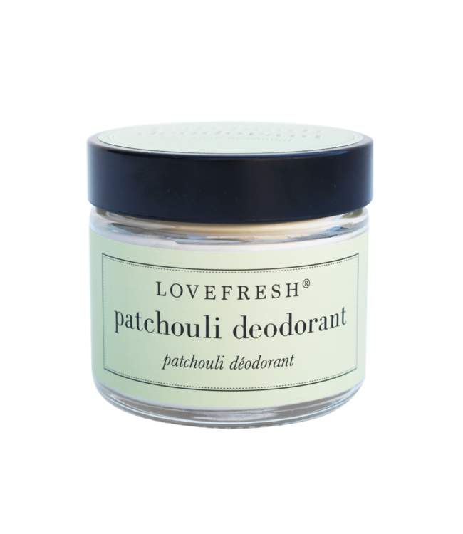 LoveFresh Déodorant en pot - Patchouli 2oz