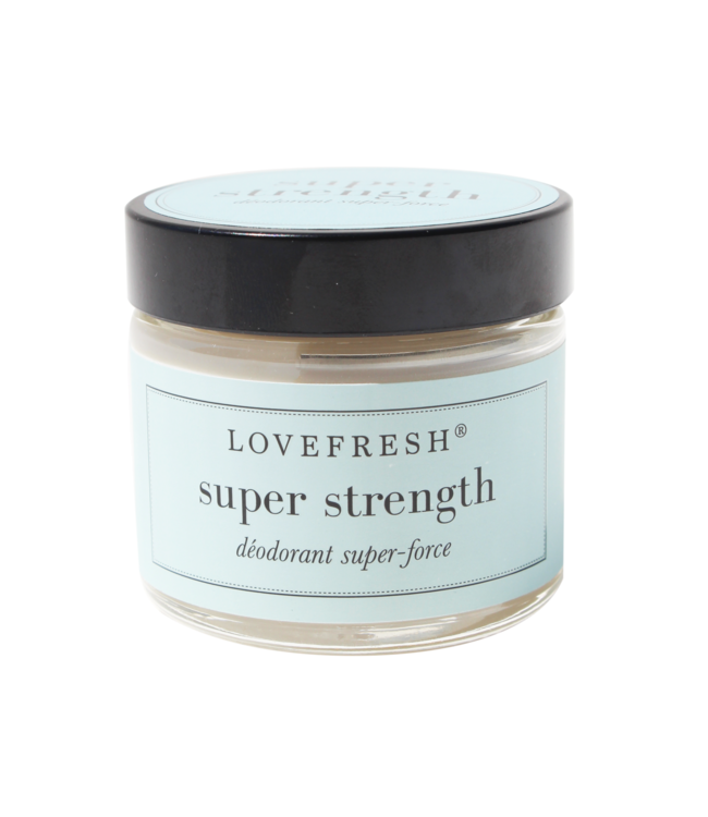 LoveFresh Super Strength Jar Deodorant 2oz