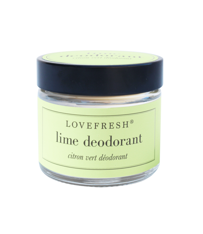 LoveFresh Lime Jar Deodorant 2oz