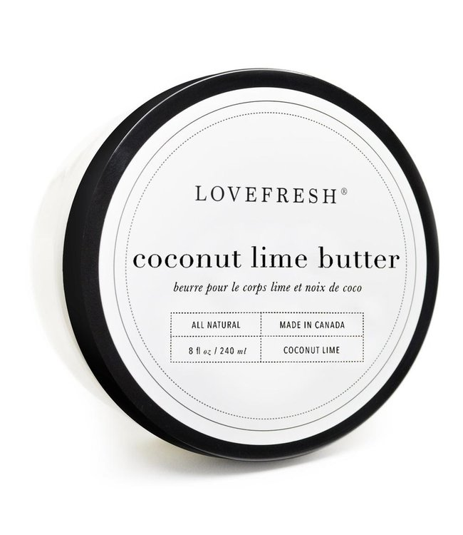 LoveFresh Coconut Lime Body Butter 8fl. oz