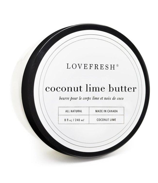 LoveFresh Beurre pour le corps - Lime et noix de coco 8fl. oz