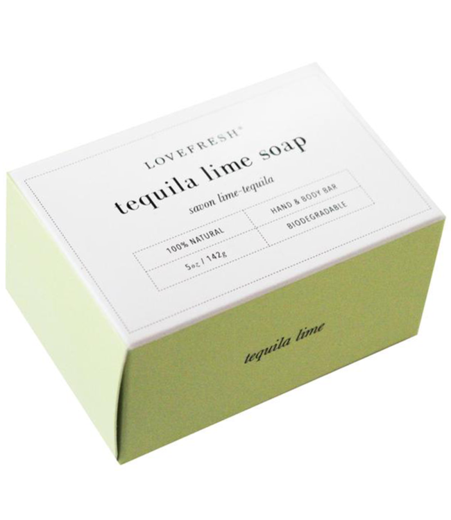 LoveFresh Savon - Lime-tequila 5oz