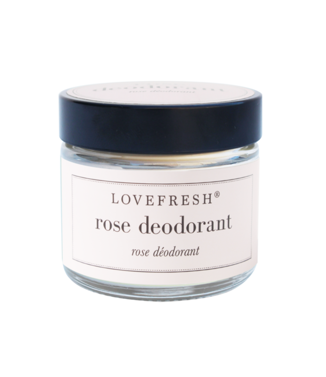 LoveFresh Déodorant en pot - Rose 2oz