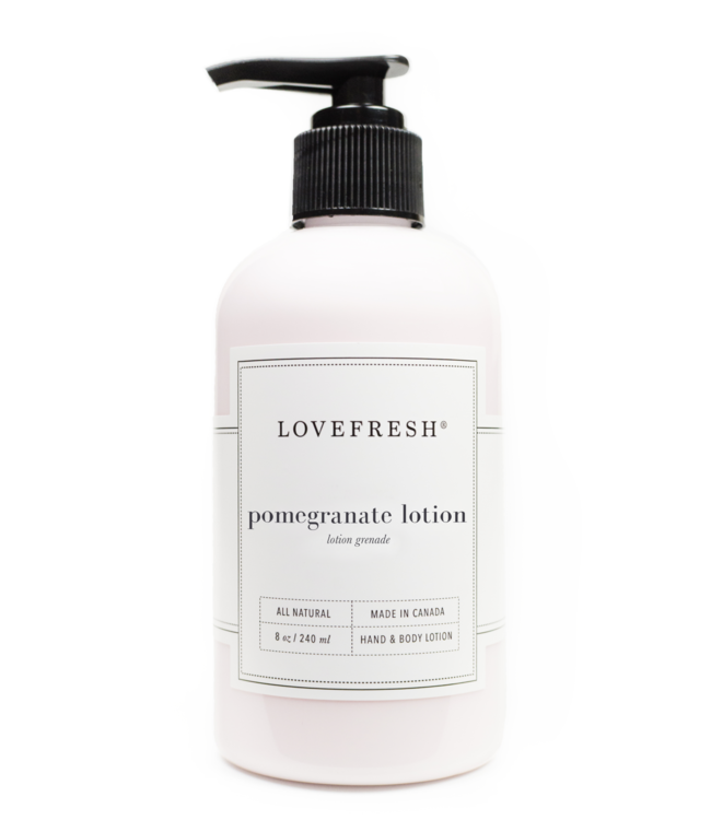 LoveFresh Lotion - Grenade 8fl. oz