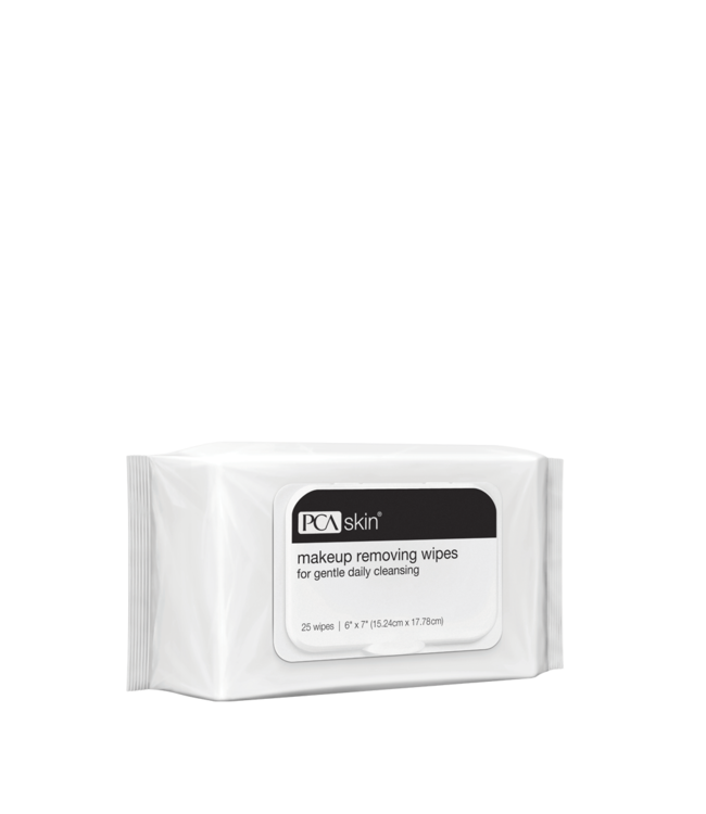 PCA Skin Makeup Removing Wipes