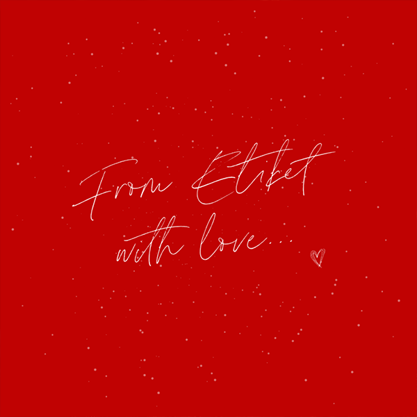 From Etiket With Love
