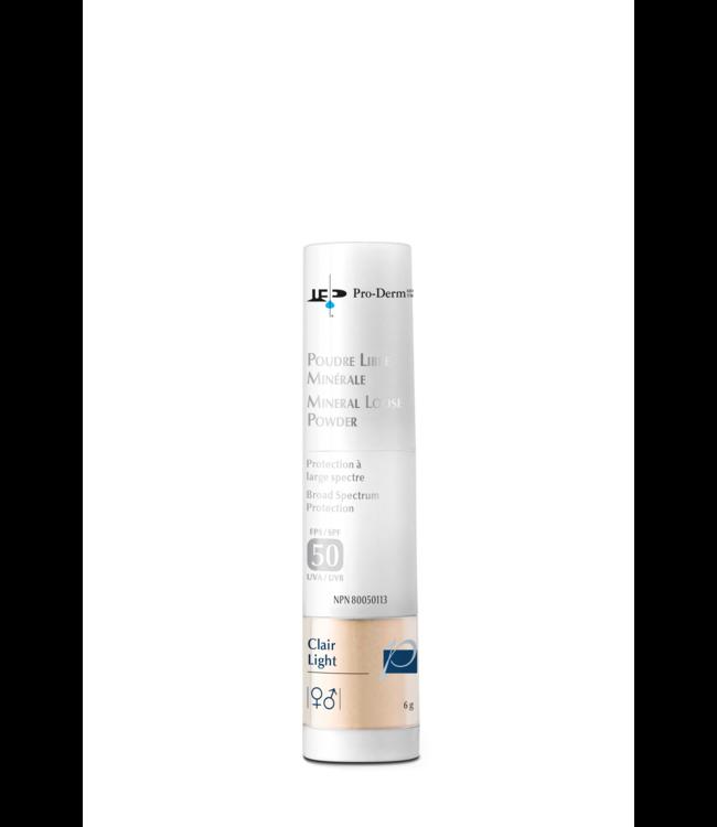 Pro-Derm Mineral Loose Powder Light SPF 50 6g