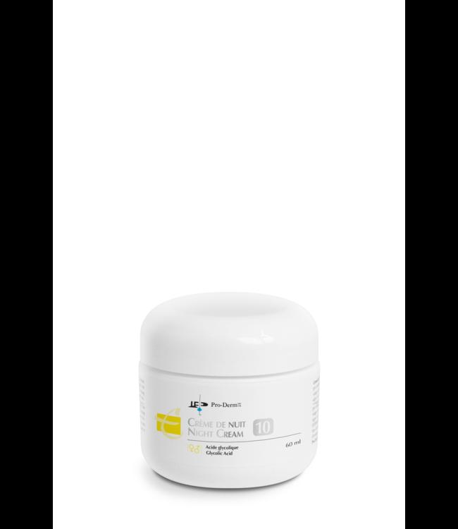 Pro-Derm Night Cream AHA 10% 60ml
