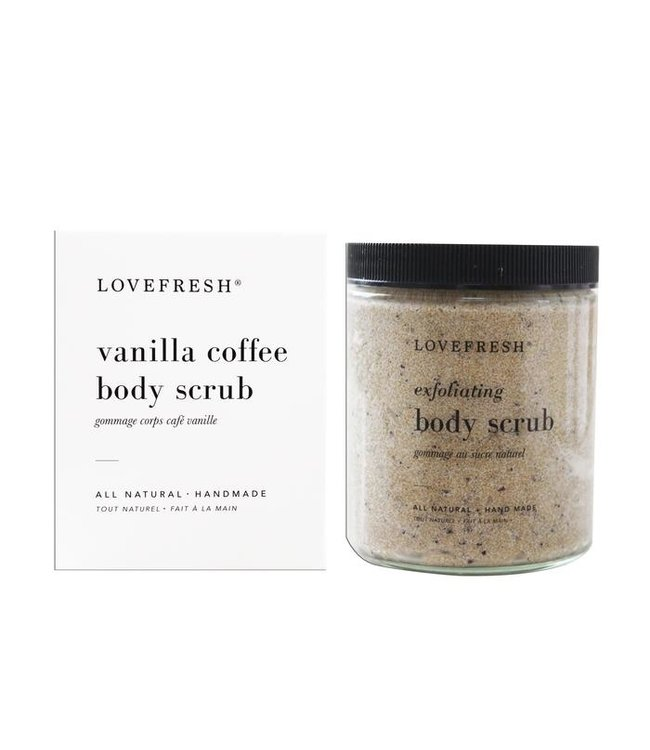LoveFresh Gommage corp café vanille 267ml