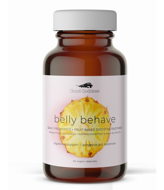Good Goddess Belly Behave Probiotics + Digestive Enzymes
