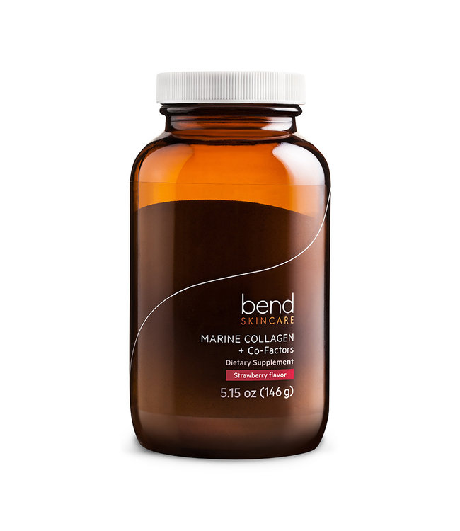 Bend Beauty Marine Collagen - Strawberry 146g