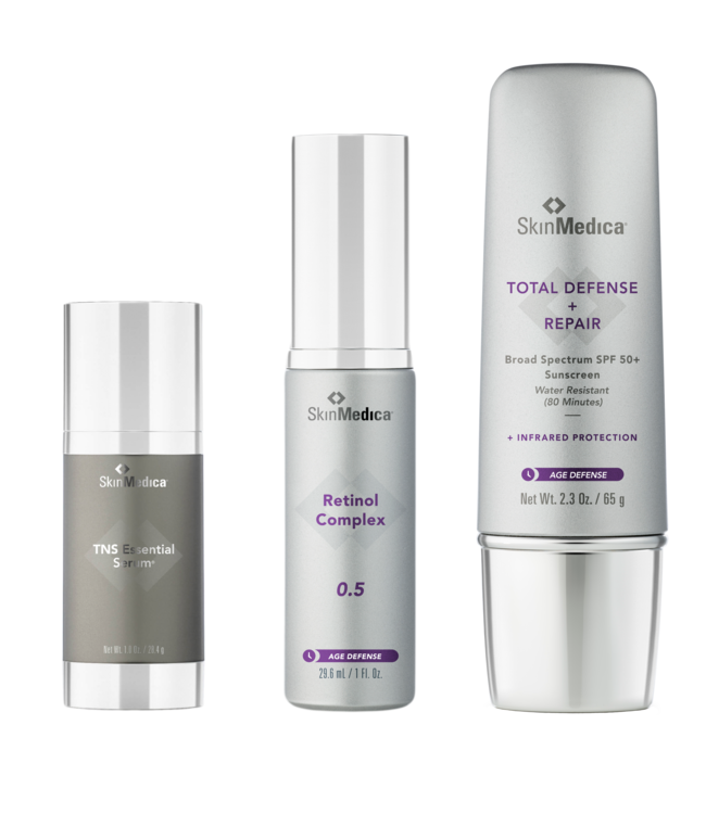 SkinMedica TNS Anti-Aging Trio | Retinol 0.50