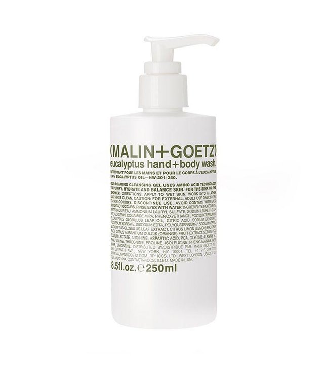 (MALIN+GOETZ) Eucalyptus Hand + Body Wash 8.5oz/250ml
