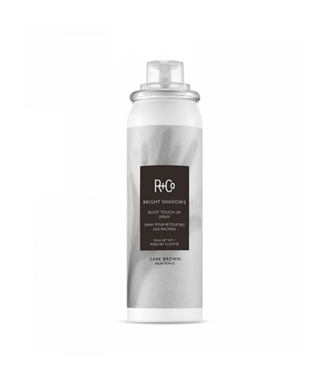 R+CO Spray retouches des racines BRIGHT SHADOWS - brun foncé  59ml