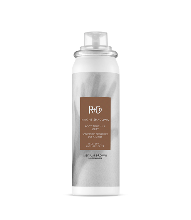 R+CO Spray retouches des racines BRIGHT SHADOWS - brun moyen 59ml