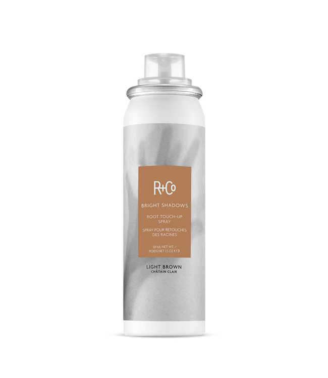 R+CO Root Touch-up Spray - Light Brown 59ml