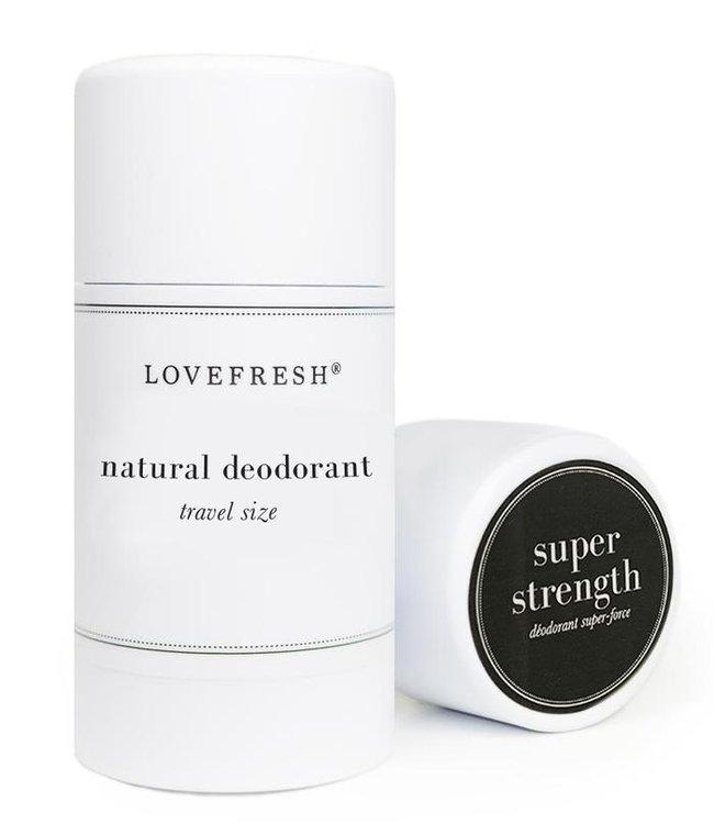 LoveFresh Super Strength Déodorant Format Voyage 1.0oz