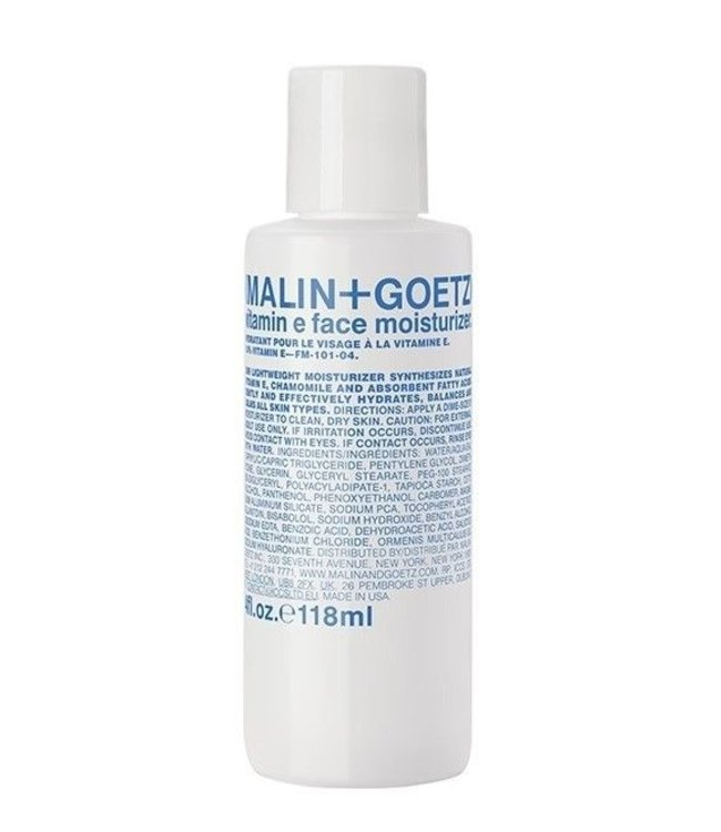 (MALIN+GOETZ) Vitamin E Face Moisturizer 4oz/118ml