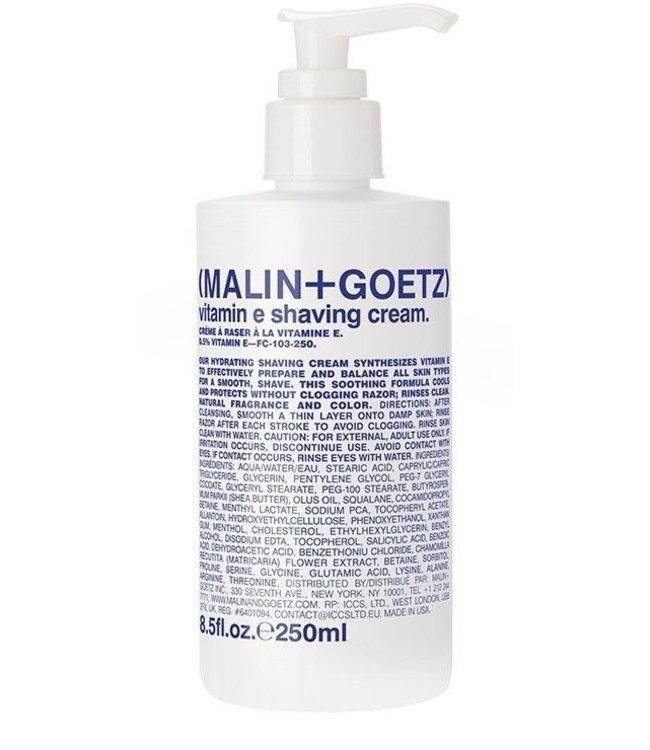 (MALIN+GOETZ) Vitamin E Shaving Cream Pump 250ml