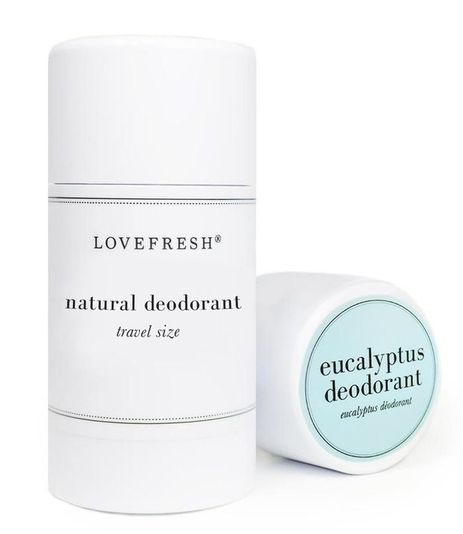 LoveFresh Eucalyptus Déodorant Format voyage 1.0oz