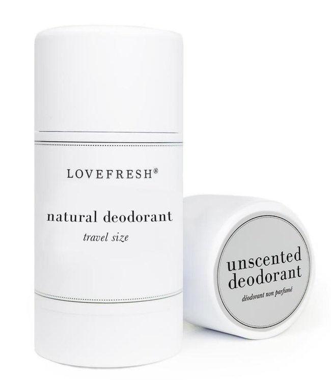LoveFresh Déodorant sans parfum format voyage 1.0oz