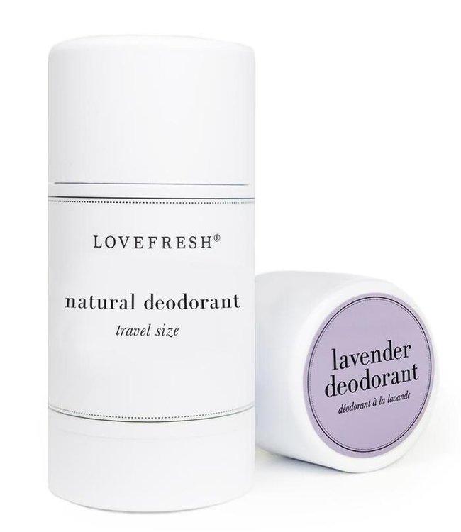 LoveFresh Lavender Deodorant Travel 1.0oz