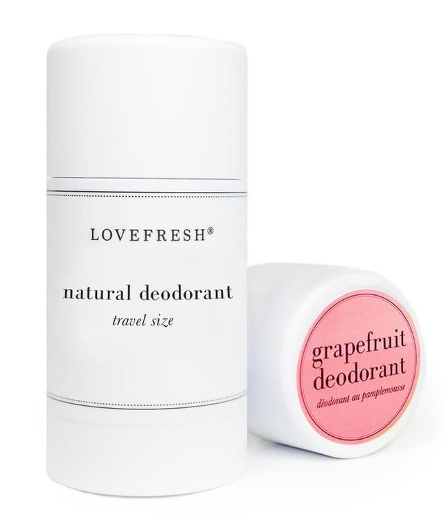LoveFresh Pamplemousse déodorant format voyage 1.0oz
