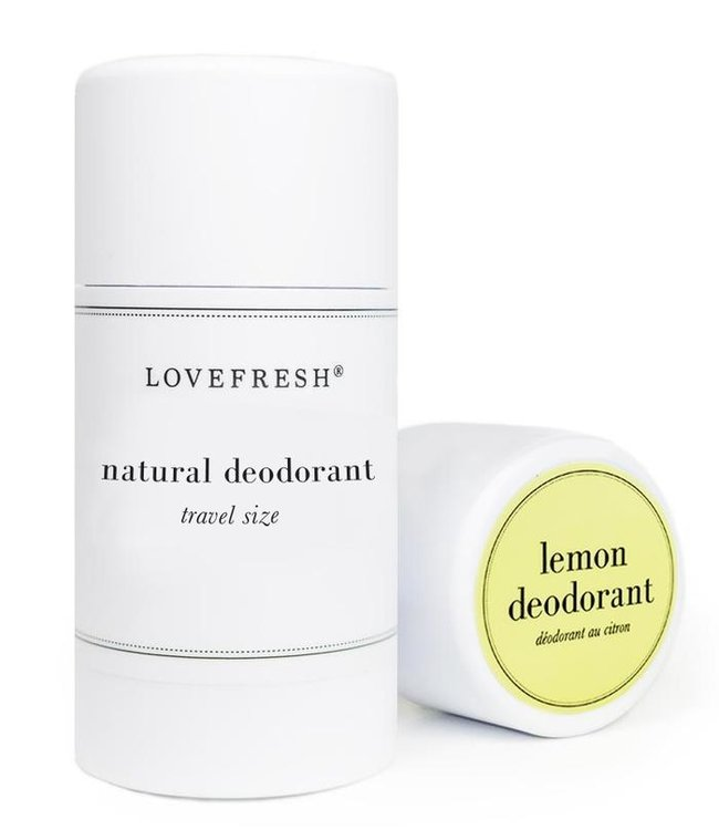 LoveFresh Citron déodorant format voyage 1.0oz