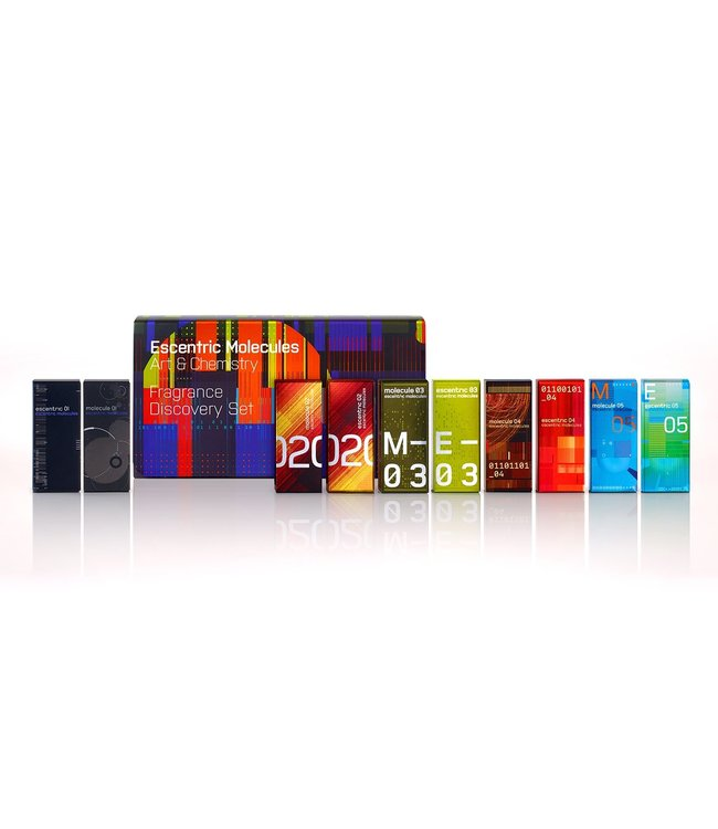 Escentric Molecules Fragrance Discovery Set