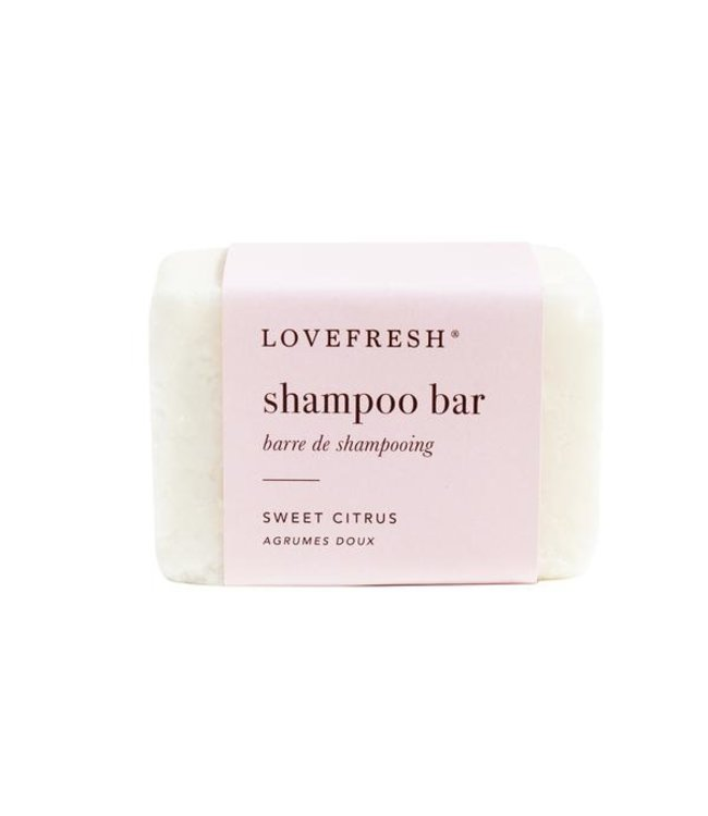 LoveFresh Barre de shampooing - agrumes doux