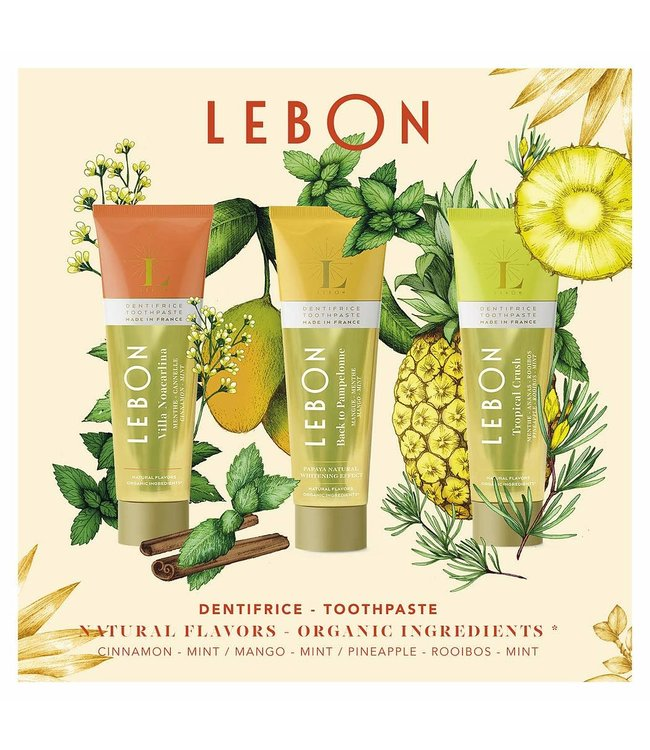 LEBON Coffret 2 Orange ( Villa Noacarlina, Back to Pampelonne et Tropical Crush)