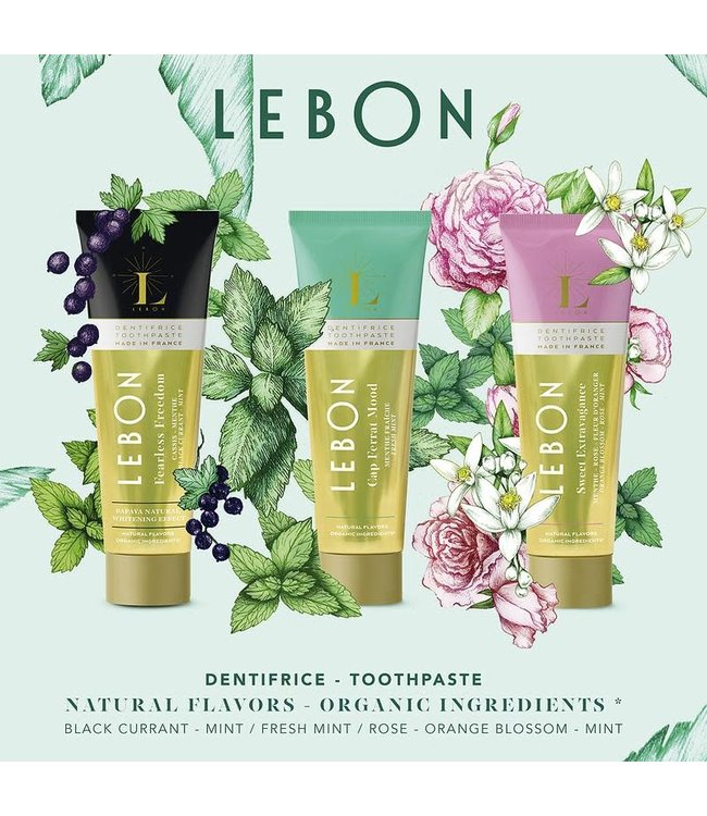 LEBON Gift Box 3 Green (Fearless Freedom, Cap Ferrat Mood & Sweet Extravagance)