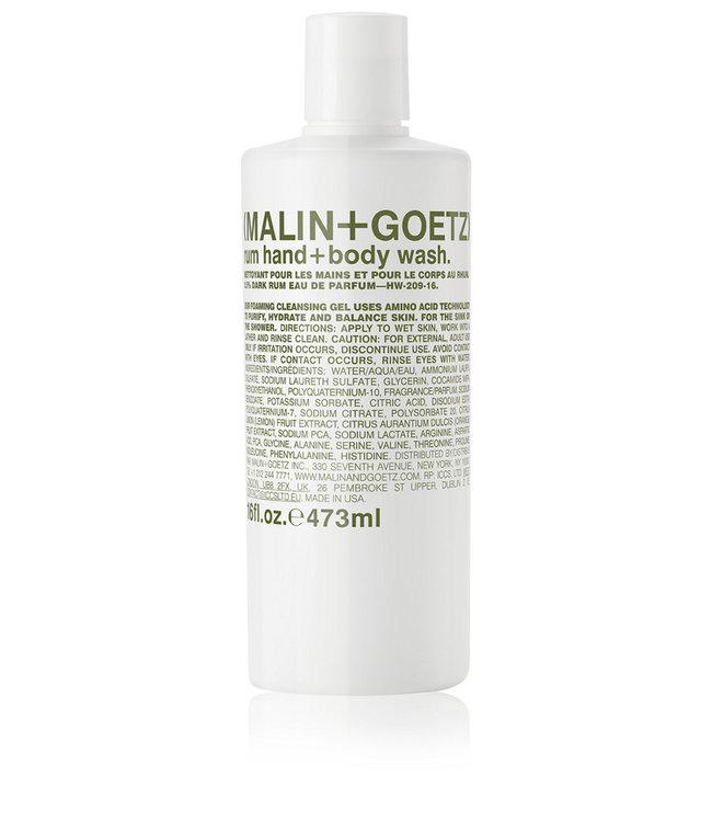 (MALIN+GOETZ) Gel nettoyant mains et corps rhum 16 oz/473ml
