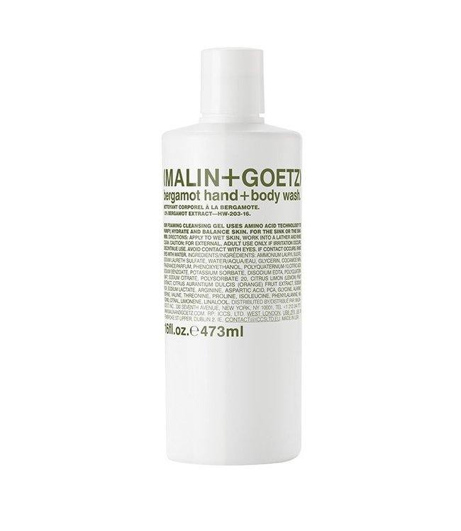 (MALIN+GOETZ) Bergamot Hand + Body Wash  16 oz/473ml
