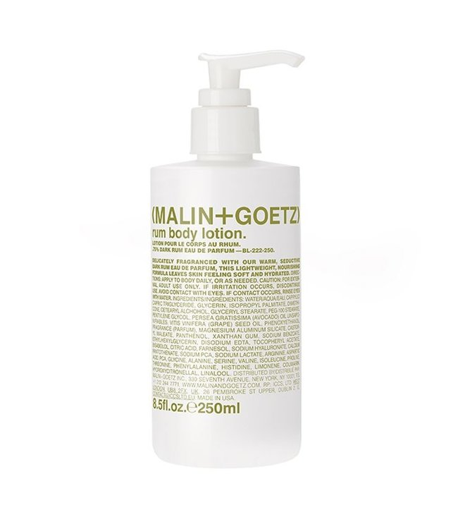 (MALIN+GOETZ) Rum Body Lotion 8.5oz/250ml