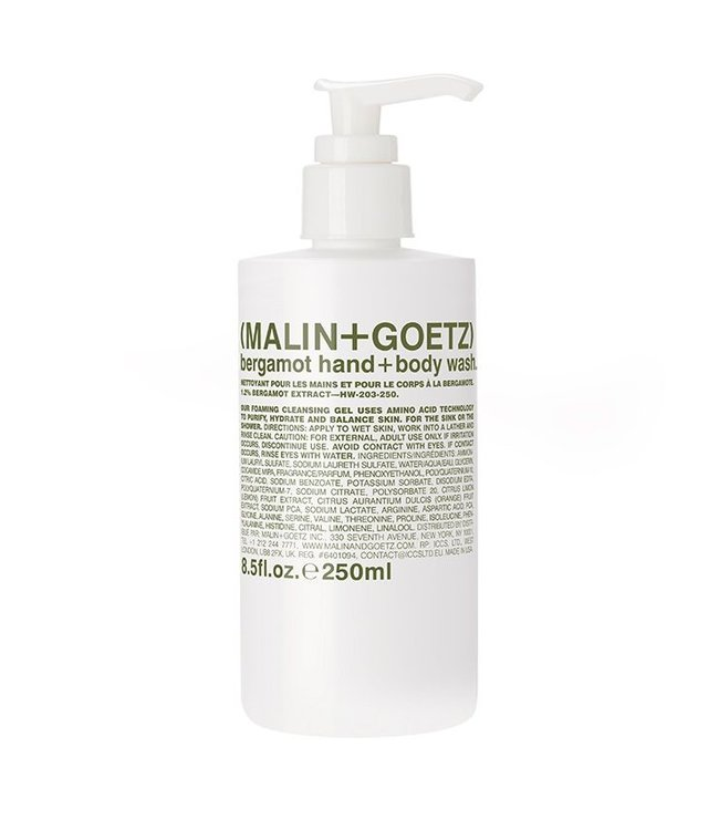 (MALIN+GOETZ) Bergamot Hand + Body Wash 8 oz/250ml