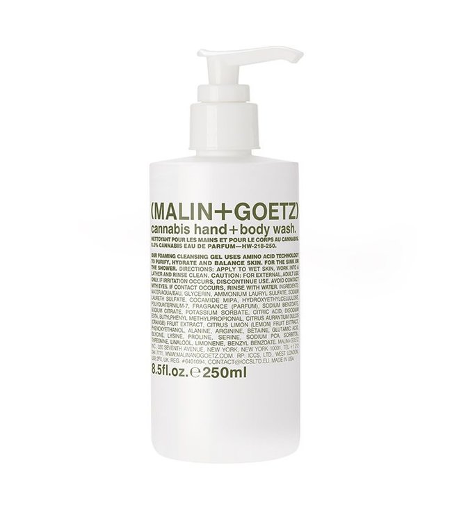 (MALIN+GOETZ) Cannabis Hand + Body Wash 250ml