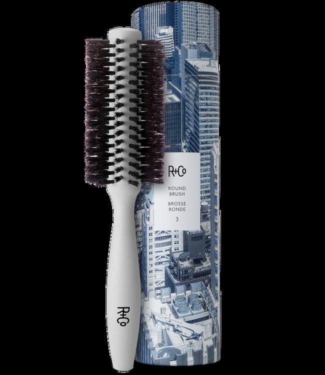 R+CO Round Brush No 3  - 2.1 Inch