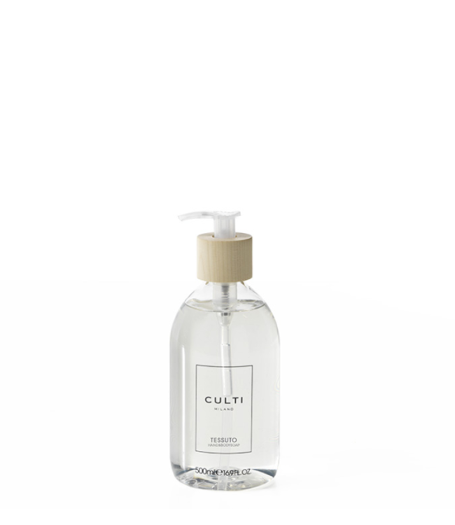 CULTI MILANO Tessuto savon pour mains et corps 500ml