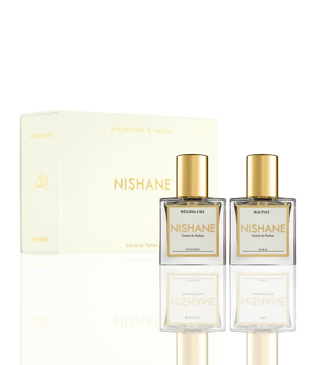 Nishane Hacivat & Wulong Cha 15ml Duo