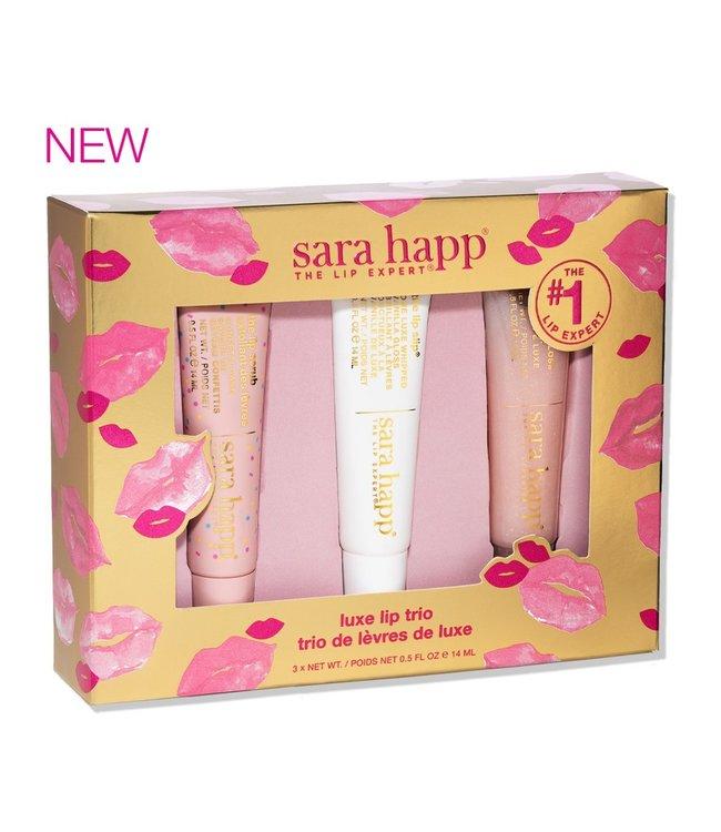 Sara Happ Trio de lèvres de luxe