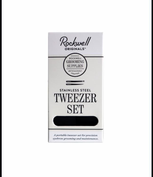 Rockwell Razors Stainless Steel Tweezer Set