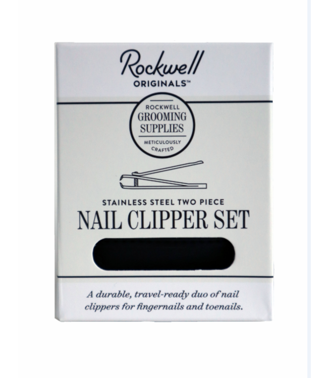 Rockwell Razors Stainless Steel Nail Clipper Set
