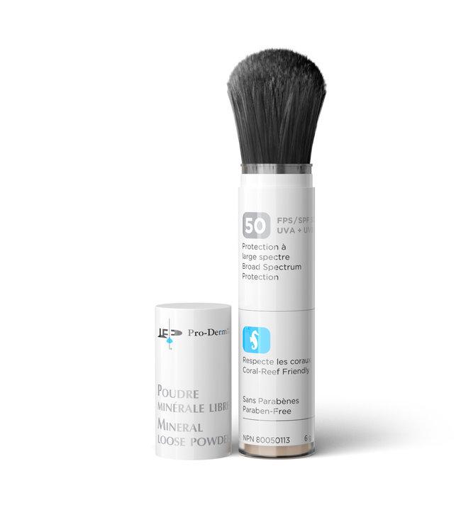 Pro-Derm Mineral Loose Powder 6g - Dark