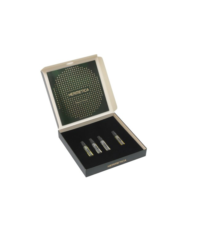 "Hermetica Coffret ""Emerald Stairways""  4 x 1.5ml"